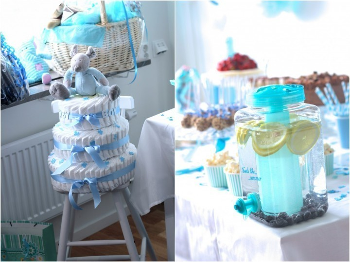 Babyshower by rosengrip for Baby dekoration